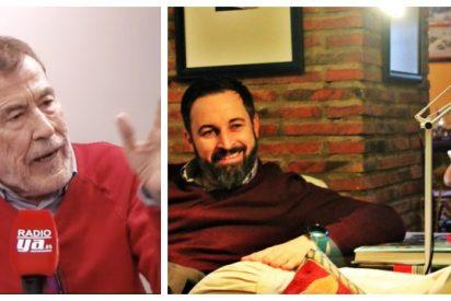 El desesperado ruego de Fernando Sánchez Dragó a Santiago Abascal que incendia Vox por los cuatro costados