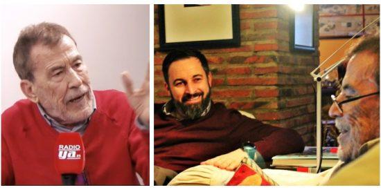 Sánchez Dragó divide en dos a VOX exigiéndole a Santiago Abascal un patriótico portazo a la Unión Europea
