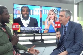 """Bertrand Ndongo, 'el negro de VOX': """"Controlar la inmigración como pretende VOX no es racismo, es sentido común"""""""
