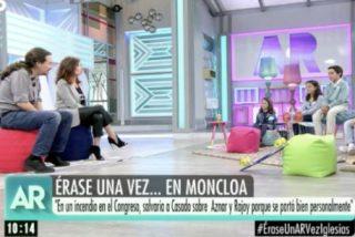 ¿A quién salvaría Pablo Iglesias de un incendio en el Congreso: Rivera, Casado o Aznar (de visita)?