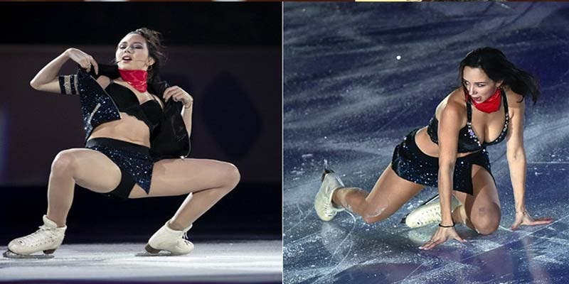 """¿Por qué los atrevidos bailes 'sexy' de esta patinadora """"cabrean"""" a algunos espectadores?"""