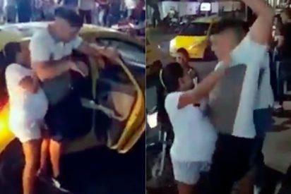 Vídeo: Embarazada pilla a su pareja de fiesta con su amante