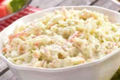Ensalada de col americana o coleslaw
