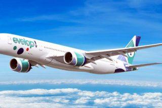 México: Evelop, tercera aerolínea europea en cifra de pasajeros a Cancún