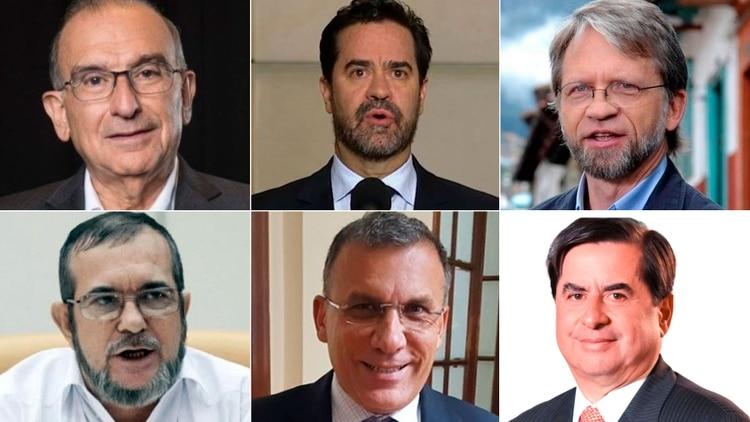 Líderes políticos de Colombia piden en una carta el cese unilateral del fuego del ELN