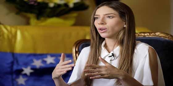 """Esposa de Guaidó acerca del allanamiento de la inmunidad: """"Nada que temer, son todos usurpadores"""""""