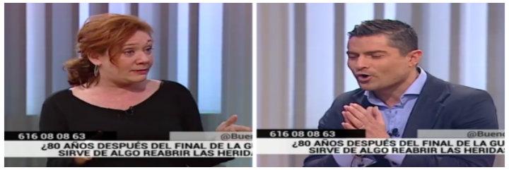 Alfonso Merlos le da una lección gratuita de historia a una Cristina Fallarás pendiente de reabrir las heridas de la Guerra Civil