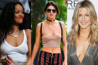 Fotos: Las famosas que han sido pilladas sin sujetador