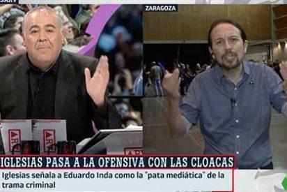 Ferreras a Pablo Iglesias: Lo único que te faltó fue responsabilizarme por cobrar dinero de Venezuela