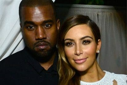 Kanye West se pone como una fiera con Kim Kardashian y sus hijos por fingir su muerte