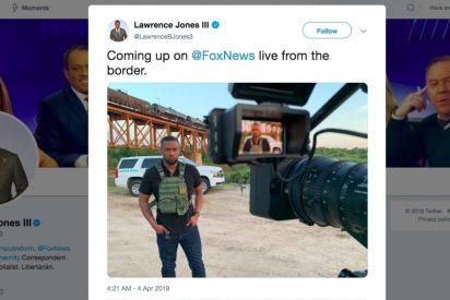 """FOX convierte la frontera de México en """"una zona de guerra"""" y le llueven memes"""