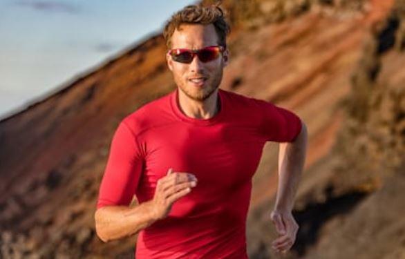 deporte al aire libre con gafas polarizadas