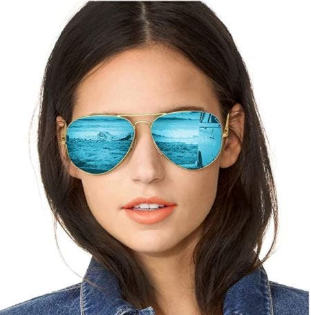 Gafas de Sol Polarizadas Mujer Espejo