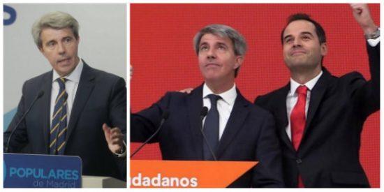 """El cínico e incoherente Ángel Garrido se pasa al club de Rivera al que tachaba de """"tonto útil de la izquierda"""""""