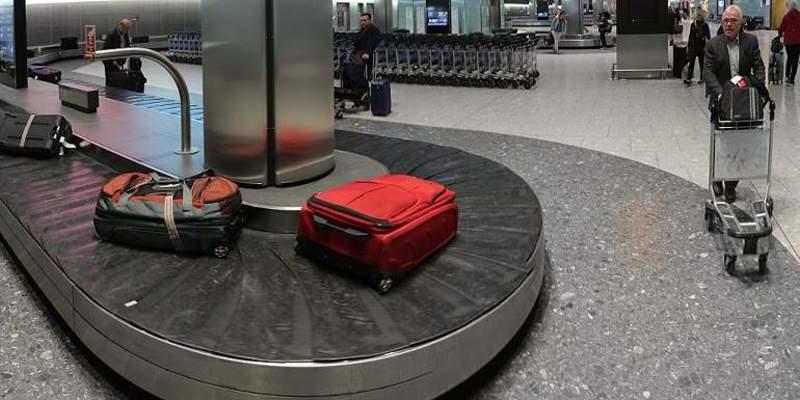 """""""Insólito"""": Se chequea en el aeropuerto, pero por la maquina para el equipaje"""