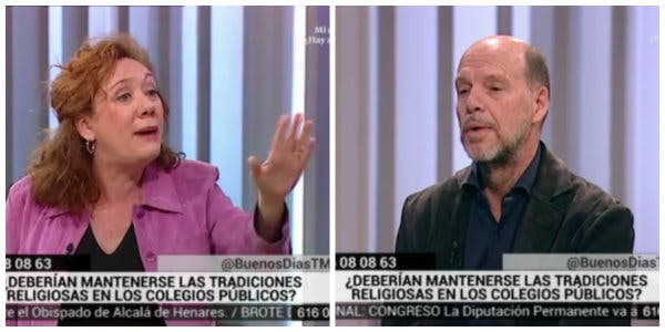 Jaime González crucifica a la radical Cristina Fallarás por su surrealista ataque a la religión