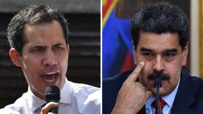 El mapa que muestra quien apoya la dictadura de Maduro y quien a Guaidó en América