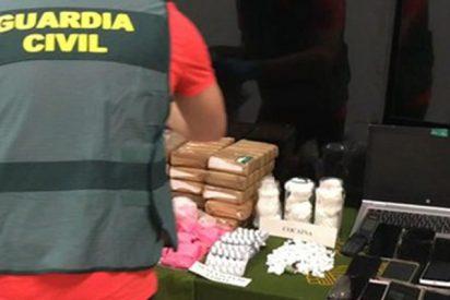 La Guardia Civil lanza una alerta urgente por el incremento de la 'pantera rosa', la droga de la clase alta