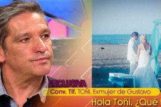 Toñi, la exmujer de Gustavo González, habla por primera vez tras su ruptura