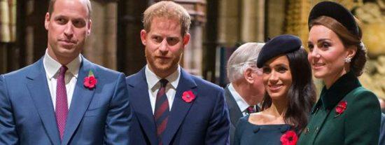 Meghan Markle y el príncipe Harry no quieren nada con Guillermo y cortan el último vínculo formal