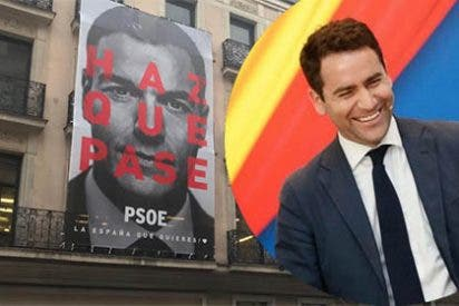 El PSOE se supera presentando un lema de campaña que es una mofa en sí mismo y se lo pone a huevo a sus rivales