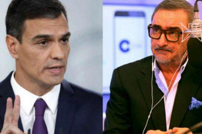 Carlos Herrera revela las indecentes relaciones entre 'El País', Pedro Sánchez y Bildu