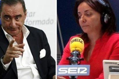 Pepa Bueno se pica por el EGM y lanza una sucia campaña contra Carlos Herrera