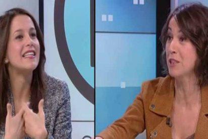 Inés Arrimadas se planta en TV3 con un par y machaca a la presentadora estrella de los 'indepes'
