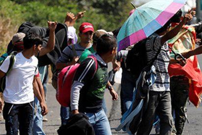 Niños inmigrantes hondureños propinan una brutal paliza a una familia en el sureste de México