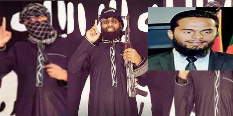 La esposa embarazada de uno de los terroristas islámicos de Sri Lanka se hace explotar junto a su hijo