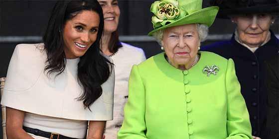 Meghan Markle hace cabrear a la reina Isabel II por usar sus joyas y las de Lady Di