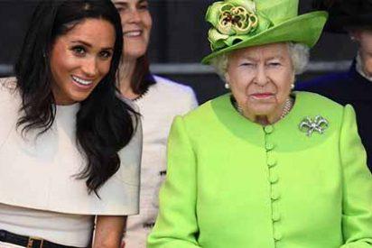 La furia de la reina Isabel II con Meghan Markle por usar sus joyas y las de Lady Di