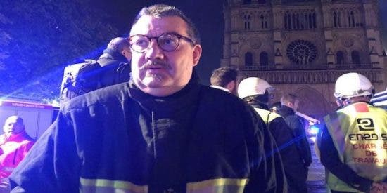 Jean-Marc Fournier, el 'héroe' de Notre Dame que salvó de las llamas la Corona de Espinas