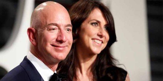 Divorcio: Jeff Bezos y su mujer se repartirán la friolera de 164.000 millones de dólares
