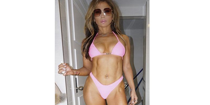 El diminuto bikini de Jennifer López del que todo hablan