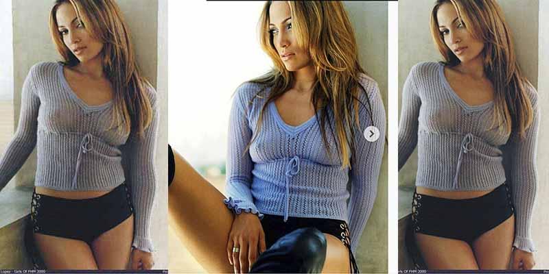 Pillan a Jennifer López en pijama y en vez de irse a la cama a dormir, se pone a bailar