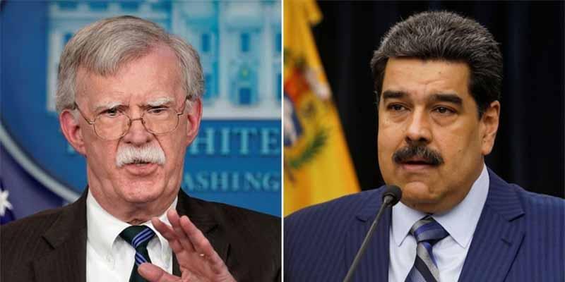 """John Bolton: """"Maduro está incorporando terroristas extranjeros y armando 'colectivos' para debilitar al Ejército"""""""