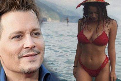 Así es la nueva novia de Johnny Depp, esta rusa 35 años más joven que él