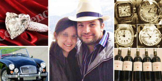 La fortuna en Madrid del chavista José Roberto: relojes, diamantes, puros, vinos y deportivos de lujo