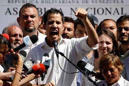 Apoyo masivo en las calles: Guaidó no se desinfla