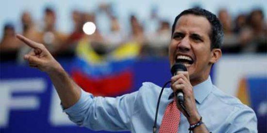 """Guaidó: """"Nicolás Maduro debe salir de cualquier forma, es un patrocinador del terrorismo"""""""