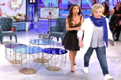 Escándalo en 'Sábado Deluxe' al negarse Karina a hablar mal de su ex Juan Miguel