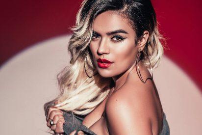 La colombiana Karol G mostró casi todo en los Latin Billboard 2019