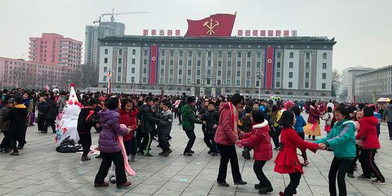 Corea del Norte: La plaza Kim Il-Sung