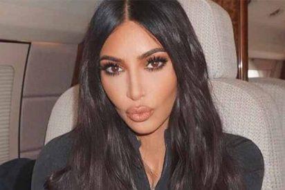 Foto filtrada: Kim Kardashian derrite la nieve con un mini bikini... Ni Shakira o Jennifer López la superan