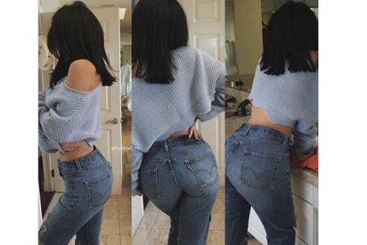 Las redondas nalgas de Kylie Jenner en vaqueros desatan la locura en Instagram