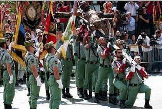 """Francisco J. Carrillo: """"La Legión presenta armas de paz en el Líbano"""""""