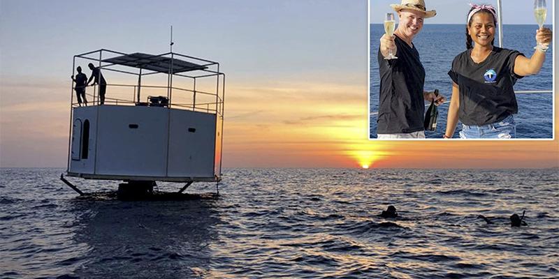Esta pareja puede enfrentarse a la pena de muerte por construir una casa en el mar