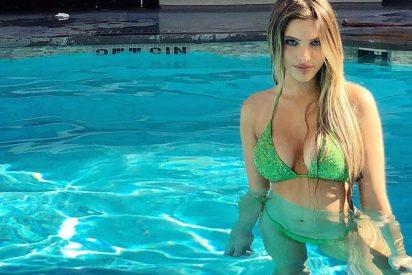 Vídeo: Dan una nalgada a la influencer venezolana Lele Pons por su vestido transparente