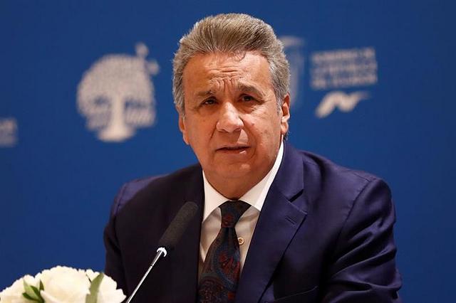 """Lenín Moreno: """"Ecuador decidió soberanamente retirar el asilo diplomático a Julian Assange"""""""